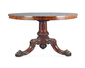 ROSEWOOD CIRCULAR BREAKFAST OR CENTRE TABLE
