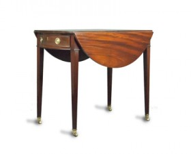 OVAL PEMBROKE TABLE
