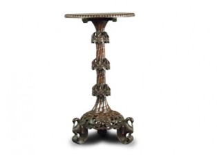 CARVED ORIENTAL OCCASIONAL TABLE
