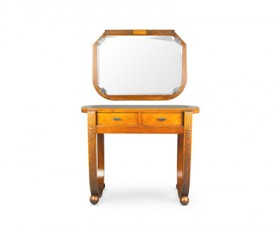 ART DECO CONSOLE TABLE & MIRROR – A9565